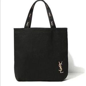 Ysl Canvas Tote Shopping bag Perfume gift